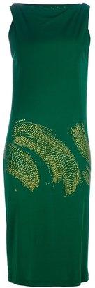 David Szeto 'Rodoso stroke' dress