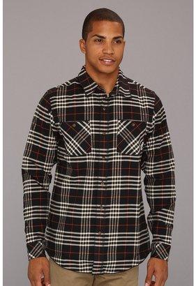 adidas Skateboarding - Silas Flannel Shirt (Black) - Apparel