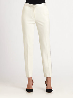 3.1 Phillip Lim Satin-Trimmed Tuxedo Pants
