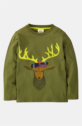 Mini Boden 'Winter Animal' T-Shirt (Little Boys & Big Boys)