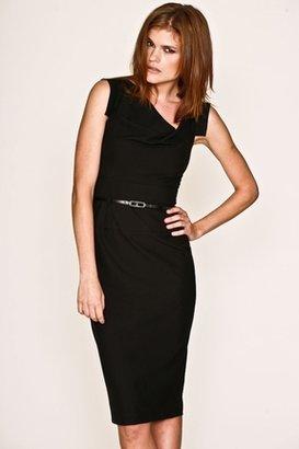 Black Halo Jackie O Sheath Dress in Black