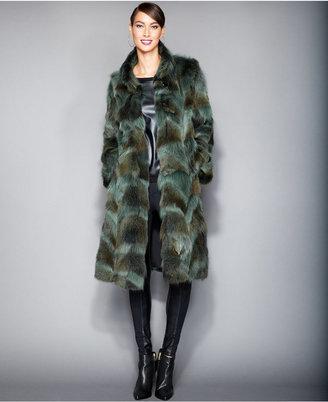 The Fur Vault Plus Size Coyote-Fur Coat $2,995 thestylecure.com