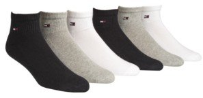 Tommy Hilfiger Men's Socks, Pitch Sport 6 Pair Pack