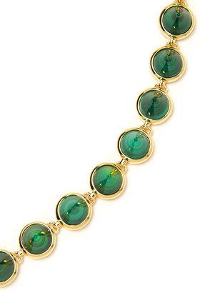 Eddie Borgo Small Gemstone Cone Necklace