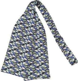 Emilio Pucci Printed Twill Silk Self-tie Bowtie