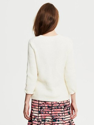 Banana Republic Textured Pullover
