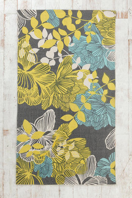 Urban Outfitters Plum & Bow Silhouette Garden Rug