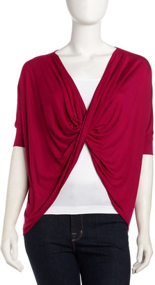 Design History Twisted Top, Sassy Pink