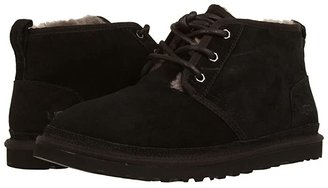 UGG Neumel (Black Suede) Men's Lace up casual Shoes
