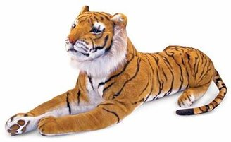 Melissa & Doug Plush Tiger - Ages 3+