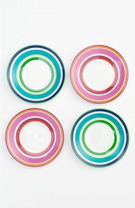 Kate Spade 'say The Word' Tidbits Plates (Set Of 4)