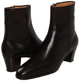 Gravati Leather Ankle Boot (Black) Women's Dress Zip Boots