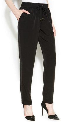 Calvin Klein Tuxedo-Stripe Track Pants