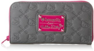 Hello Kitty Purple Splash Emboss CHR Wallet