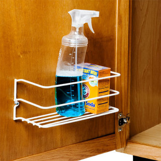 Container Store Cleanser Rack White