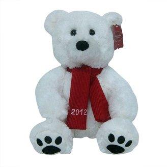 St Nicholas square 2012 polar bear plush