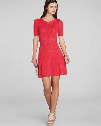 BCBGMAXAZRIA Dress - Alena Pointelle