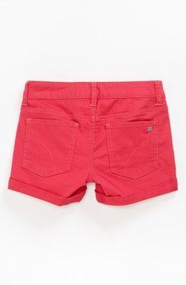 Joe's Jeans Roll Cuff Shorts (Little Girls & Big Girls) Geranium 6X