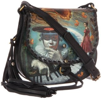 Icon Handbags Mocha-3 Cross Body