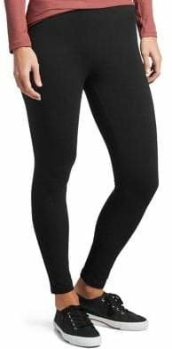 Hue Ankle-Length Stretch-Cotton Leggings