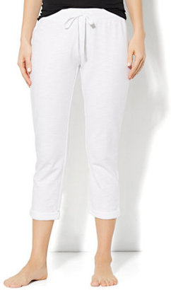 New York & Co. Love, NY&C Collection - Slim Slouch Roll-Cuff Crop Pant