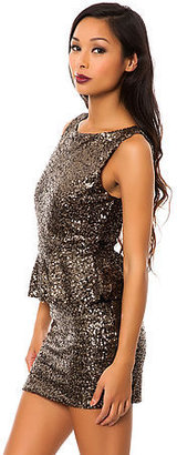 *MKL Collective The Bits and Pieces Dress in Gold