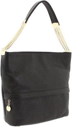 Ivanka Trump Vivian Bucket Hobo (Black) - Bags and Luggage