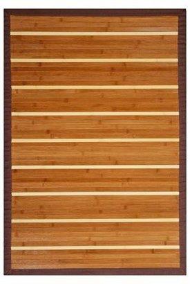 Anji Mountain Striped Bamboo Rug - Anji Mountain®
