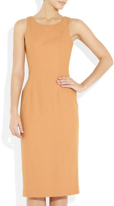 L'Wren Scott Wool-blend twill sheath dress