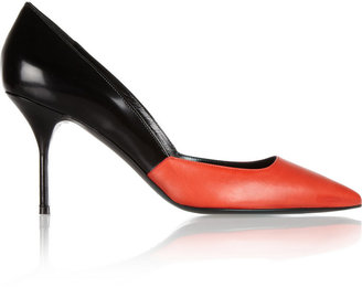 Pierre Hardy Two-tone leather pumps