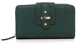 Kate Landry Bridge Tab Zip-Around Wallet