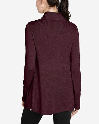 Eddie Bauer Women's Flightplan Long Drape Cardigan Sweater