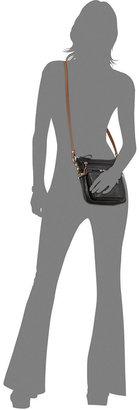 Bernini Giani Handbag, Pebble Leather Trimmed Crossbody