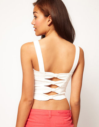 River Island Bow Back Bustier