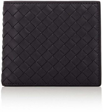 Bottega Veneta Men's Intrecciato Billfold $460 thestylecure.com