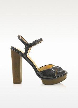 Marc by Marc Jacobs Dries - Black Patent Sandals