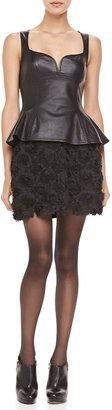 Nanette Lepore Posey Embellished Short Skirt