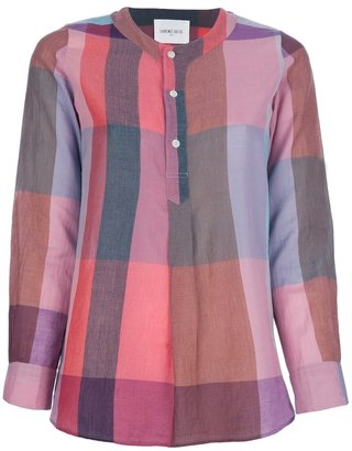 Laurence Dolige check blouse