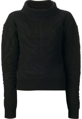 Carven roll neck sweater