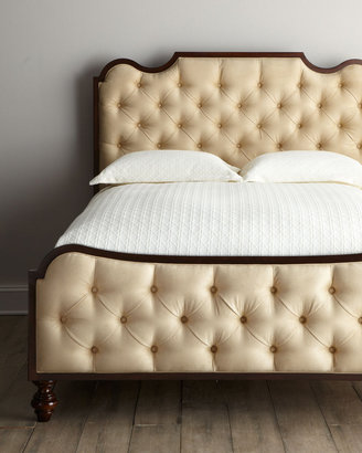"Horchow ""Sheldon"" Tufted Bedroom Furniture"