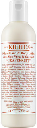 Kiehl's Since 1851 Women's Deluxe Hand & Body Lotion with Aloe Vera & Oatmeal $22 thestylecure.com
