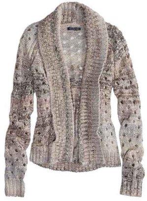 American Eagle AE Open Metallic Knit Cardigan