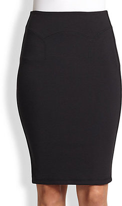 McQ by Alexander McQueen Contour Pencil Skirt