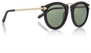 Karen Walker Black Harvest Wayfarer Sunglasses