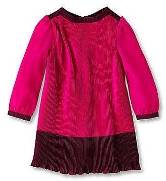 Ted Baker Colorblock Chiffon Dress - Girls newborn-24m