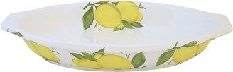JCPenney Abbiamo Tutto Lemon Small Oval Baker