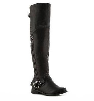 Restricted Park Over the Knee Riding Boot
