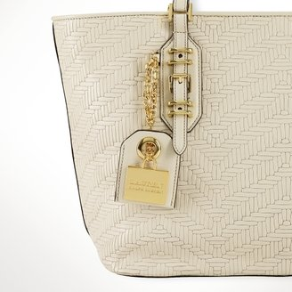Ralph Lauren Woven Leather Shopper