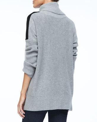 Neiman Marcus Cashmere Turtleneck Pullover