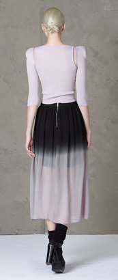 Stella and Jamie - Cecilia Ombre Skirt | Black/Rose